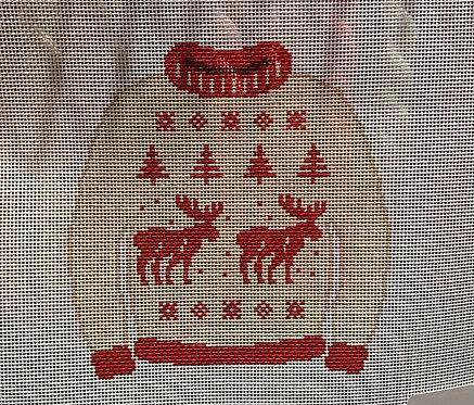 Poppy's Needlepoint Nordic Sweater