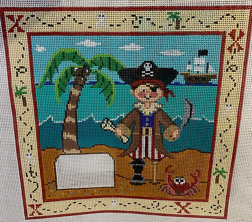 Meredith Collection Pirate Tooth Fairy Pillow S-181