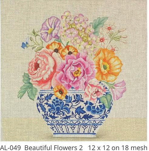 Amanda Lawford AL049 Beautiful Flowers 2 18mesh