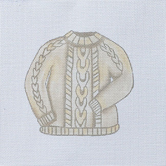 Sara Fritz SF-27 Cable Knit Sweater