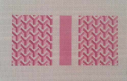 Anne Fisher AF24 P Pattern Eyeglass Case Pink