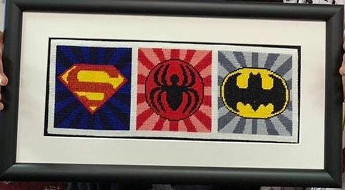 AP3731 Super Hero Emblems