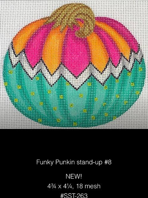 Kate Dickerson SST263 Funky Pumpkin Standup #8