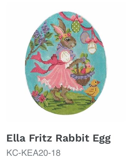 Kelly Clark Ella Fritz Rabbit Egg