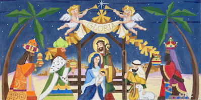 Raymond Crawford HO1977 Nativity