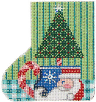 SK129 Santa Tree Mug  Skate