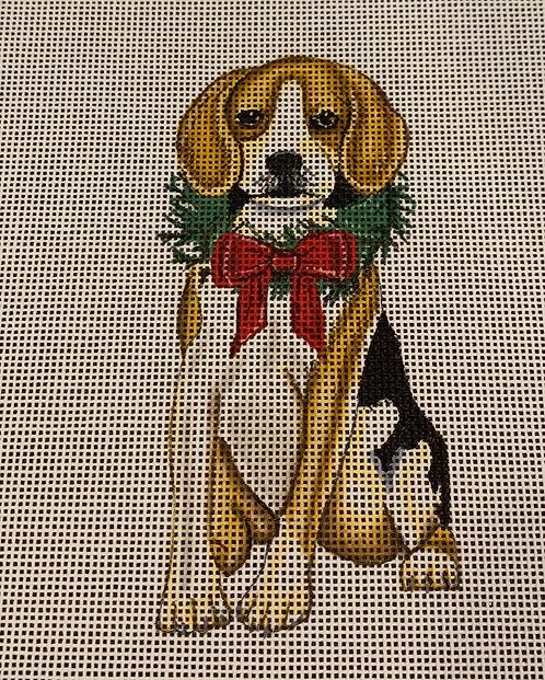 Danielle Murray DMDG11A Holiday Beagle Ornament