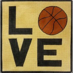 AP 3763 Love Basketball Square