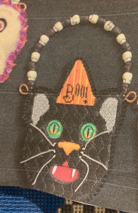 Brenda Stofft Black Cat Ornament 3D and stitch guide