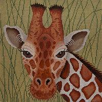 JP Needlepoint Giraffe in Grass A-109