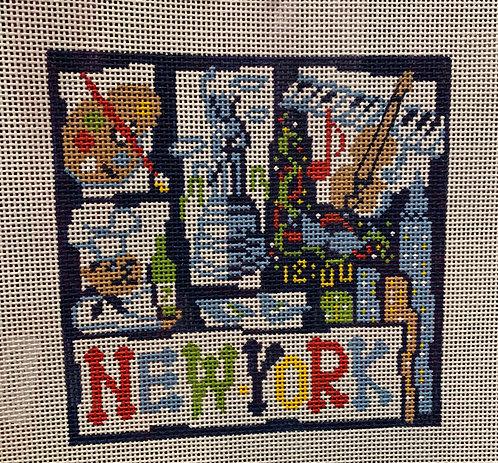 AP 2645 Small New York Retro