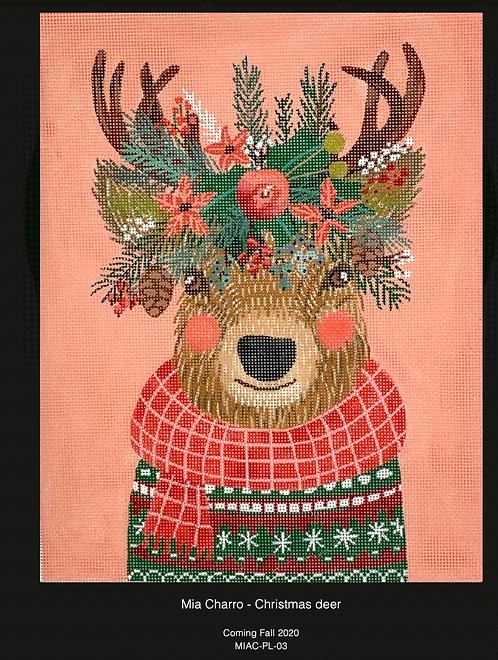 Kate Dickerson Christmas Deer