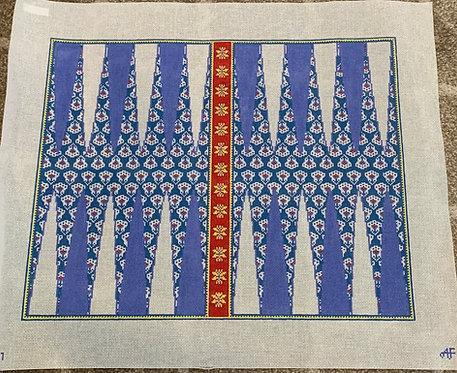 Anne Fisher AF47 Provence Backgammon