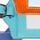 Thumbnail: Aqua Planet Earth Luggage Tag