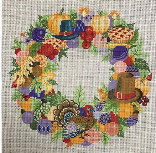 ASIT Thanksgiving Wreath 13 mesh