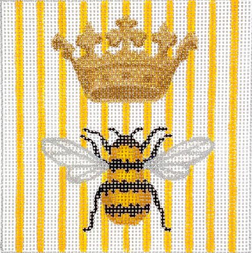 "Kate Dickerson INSSQ4-58 Queen Bee 4x4"" Square"
