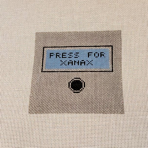 Silver Stitch Needlepoint Press for Xanax