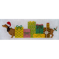 JP Needlepoint Princess and her Packages X-223
