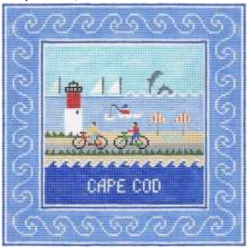 Doolittle Destination Squares 13 mesh Cape Cod