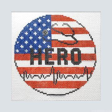 Needlepoint by Laura Hero