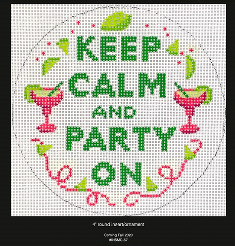 Kate Dickerson Keep Calm and Party On