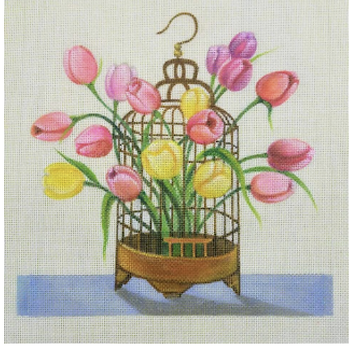 JCreation Birdcage Tulips