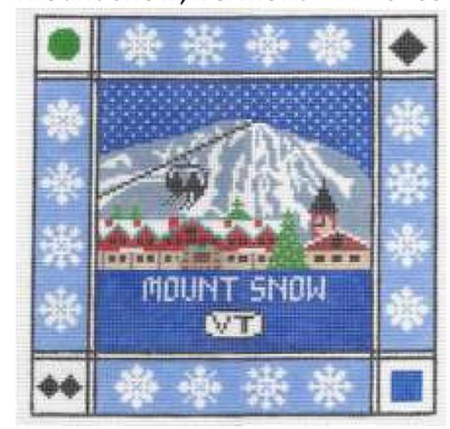 Doolittle Ski Squares 13 mesh Mount Snow