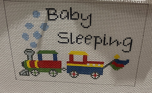 J Child Baby Sleeping Sign DHG 212