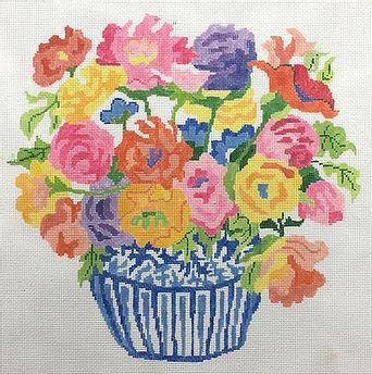 """Jean Smith 76D Sizzle Bouquet 13 mesh 14"""" Square"""
