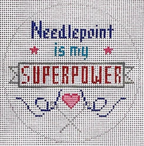 ZIA -169 Needlepoint is my Super Power