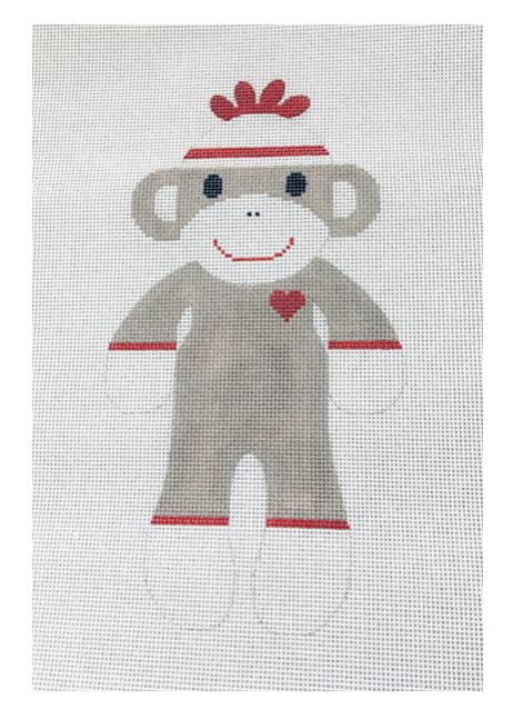 J Malahy 3.5x6 18mesh Sock Monkey
