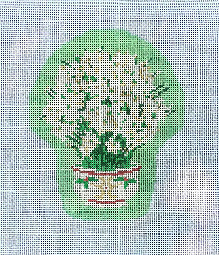 Bylee Needlepoint Floral 1