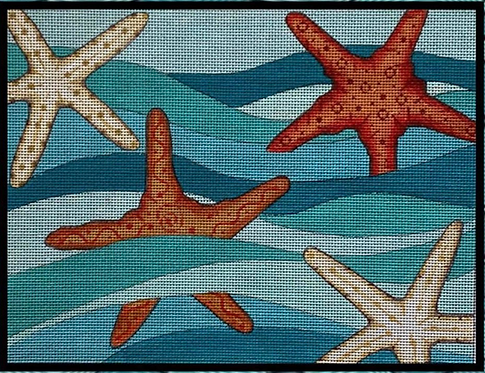 Alice Peterson Starfish in Waves AP 4027 - 13 mesh