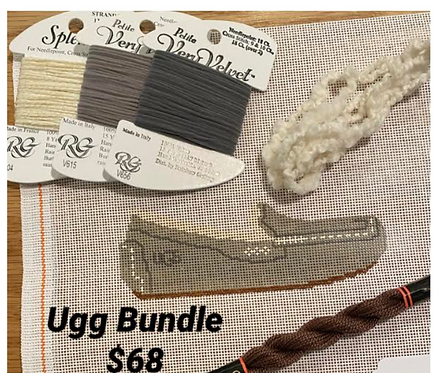 Grab and Go Ugg Bundle - Grey Threads