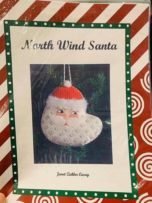 North Wind Santa with Stitch Guide