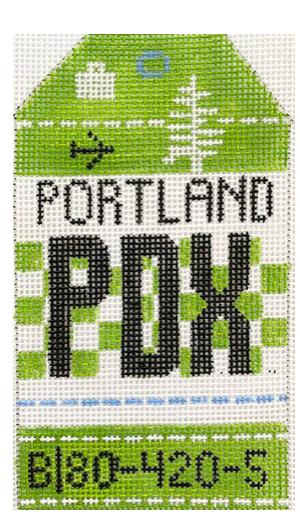 HedgeHog PDX Portland Travel Tag