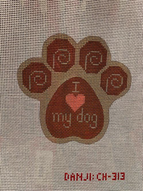 CH 313 I Love My Dog
