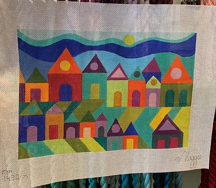 Maggie M-1430 A Houses - 13 mesh