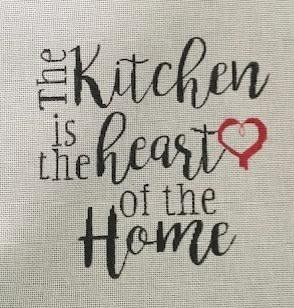 PP1039 The Kitchen is the Heart of the Home 18 mesh