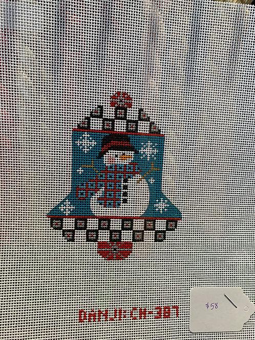 Danji Designs Bell CH-387 Snowman