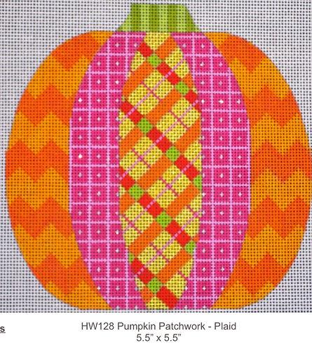 Eye Candy HW128 Pumpkin Patchwork Plaid