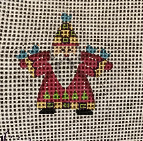 Heidi 237 Santa with Birds Star