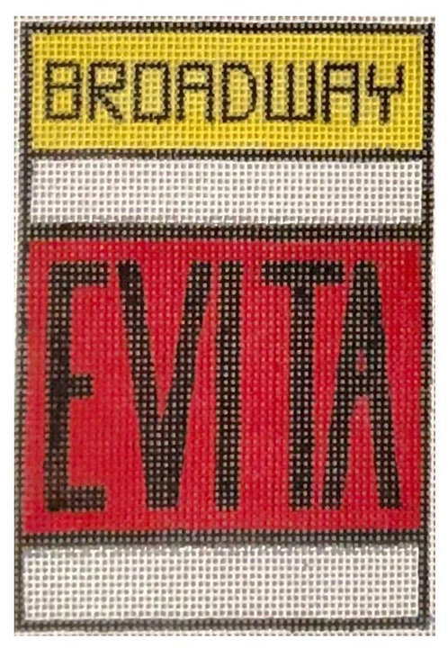 Raymond Crawford Playbill -Evita