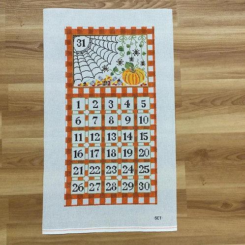 SCT Halloween Calendar