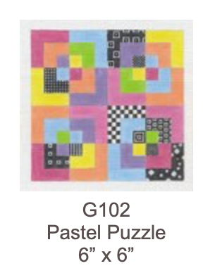 Eye Candy G102 Pastel Puzzle