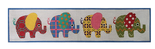 AP3627 Patterned Elephants