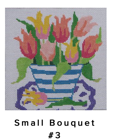 """Jean Smith Small Bouqet #3 - 8"""" 13mesh"""
