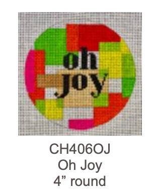 Eye Candy CH406OJ Oh Joy Ornament