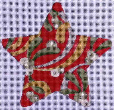 Raymond Crawford HO714 Red Mistletoe Star