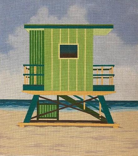 ASIT 360 Green Lifeguard Stand